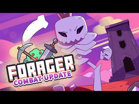 Forager is worth playing again with the Combat update
