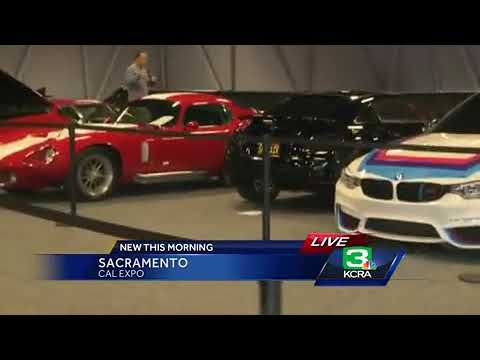 New Classic And Luxury Cars Out At Sacramento Int L Auto