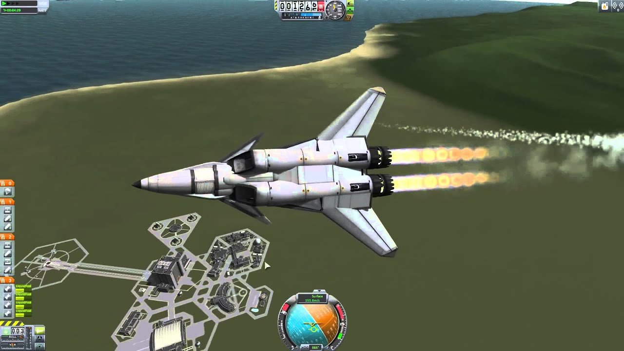 kerbal space program showchasing new plane and talking ...