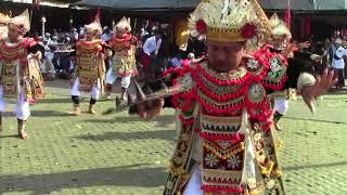 Baris Presi Sebatu ngayah ring Pura Batur 2017