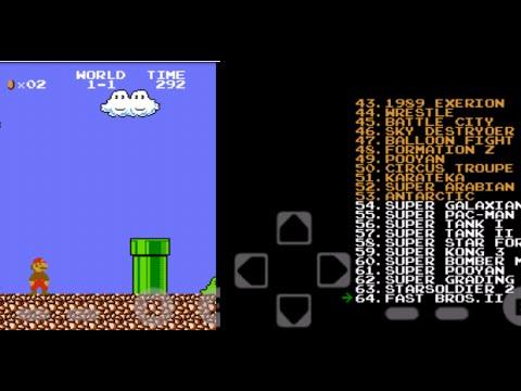 Como Jugar Juegos De Nintendo En Android Nes Emulator Youtube
