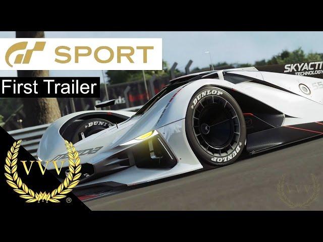 Gran Turismo Sport - First Trailer