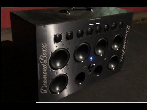 Diamond Box Xl >> Early Bird Wake Up Call The Sound Quality Loud Diamondboxx Xl Bluetooth Boombox 5 30am