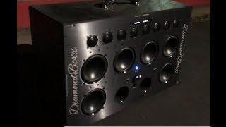 Early Bird Wake Up Call - The Sound Quality Loud Diamondboxx XL Bluetooth Boombox 5:30am