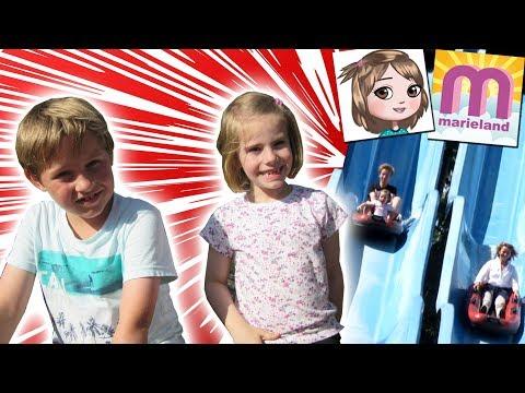 Tolk-Schau Freizeitpark   Schnellste Rutsche der WELT ? Mit Spielzeugtestern   Vlog #108 Marieland