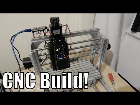 Cheap CNC 2417T Build and Install!!