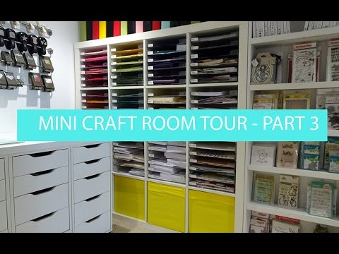 What's in my Ikea 'Alex' Storage - Mini craft room tour
