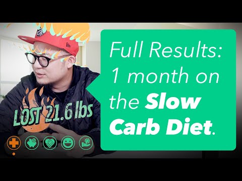 Slow Carb Diet Results How to Lose 20 Pounds in a Month!