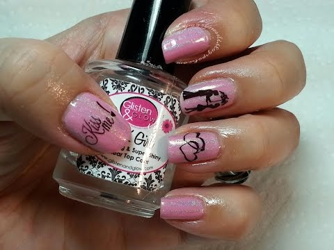 Kiss Me!! Nails. Valentine's Day 2015 Nails Part 1.