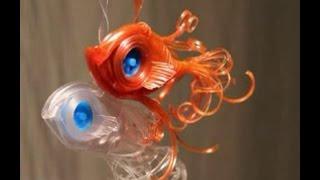 Рыбка из капельницы