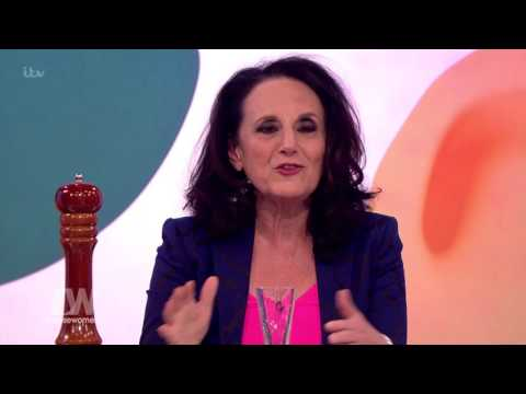 Lesley Joseph On Getting Her Top Off!  Loose Women