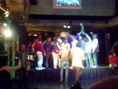 The winner from european theatre football championship 2009 in Hamburg