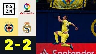 Santi Cazorla schockt die Königlichen: FC Villareal - Real Madrid 2:2 | DAZN Highlights | LaLiga