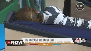 Kansas City students building a better chair for Autistic children