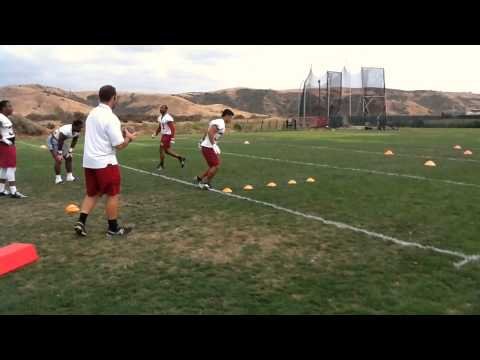 2015 Saddleback College Gauchos Football - Running Backs - Coach Todd Rusinkovich