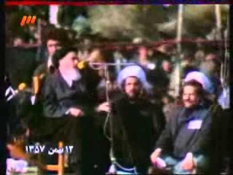 سخنرانی امام در بهشت زهرا   قسمت دوم - sokhanrani khomeini dar behesht zahra part 2