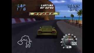 Automobili Lamborghini Gameplay - N64 - Championship