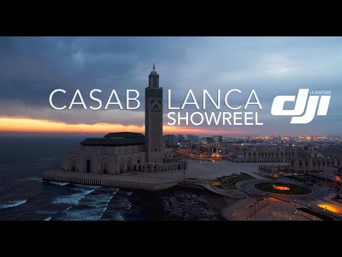 Casablanca - Aerial Magic Views (Morocco)