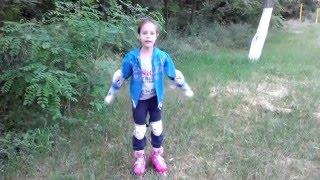 Учимся кататься на роликах ❀ How to rollerblading for kids