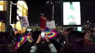 הפגנה נגד מתווה הגז 28/11/2015
