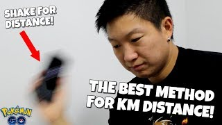 The Best Way To Get Km Distance In Pokemon Go With Adventure Sync!!