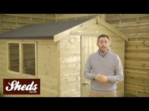 Hartwood T&G Pressure Treated Sheds and Workshops