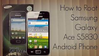 How to Root Samsung Galaxy Ace S5830 Android Phone - PhoneRadar - PhoneRadar(Full Details on the website : http://PhoneRadar.com Phone Finder : http://PhoneRadar.com/gadgets ~~## Follow Amit Bhawani on Social Media ..., 2011-03-17T10:36:50.000Z)