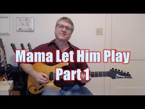 Mama Let Him Play, Doucette (Guitar Lesson - Riffs and Chords)