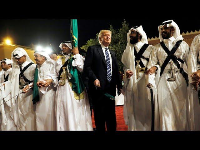 Турне Трампа: танцы в Саудовской Аравии, смех в Израиле, вуали в Ватикане