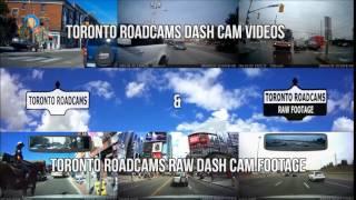 Toronto Roadcams Dash Cam Videos & Toronto Roadcams Raw Dash Cam Footage. Subscribe for more videos!