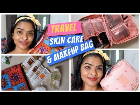 Basic & Affordable Travel Skin Care Routine | My Travel Makeup Bag Essentials thumbnail