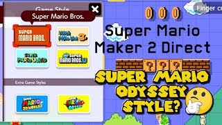 15 Details You Might Have Missed - Super Mario Maker 2 Direct