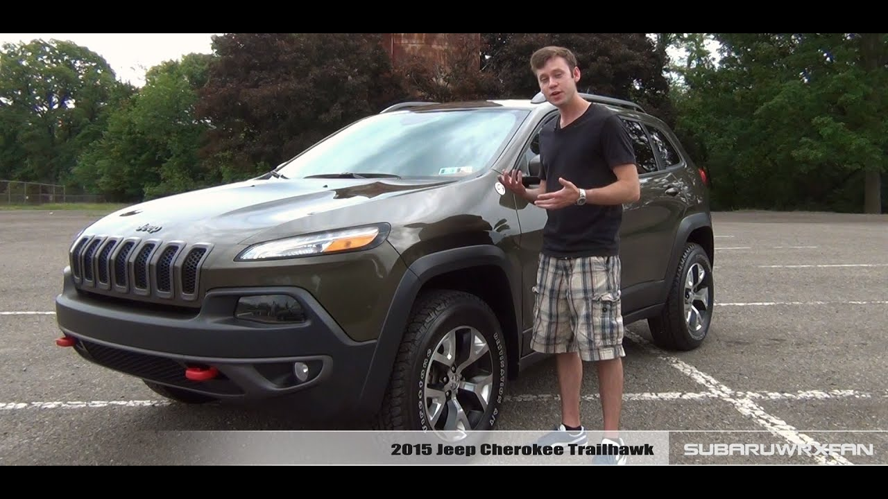 review 2015 jeep cherokee trailhawk funnydog tv. Black Bedroom Furniture Sets. Home Design Ideas