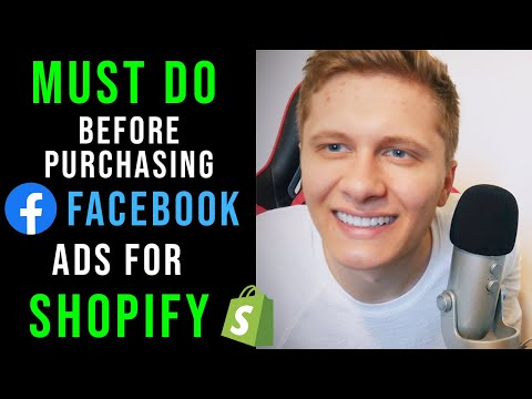 Do This BEFORE Buying Facebook Ads For Your Shopify Store! (beginners MUST watch this)