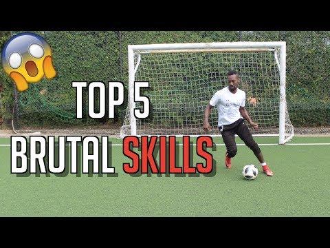 TOP 5 HUMILIATING SKILL MOVES - FOOTBALL SKILLS