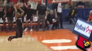 Louisville's Khwan Fore's Relentless Defense Pays Off With Dunk