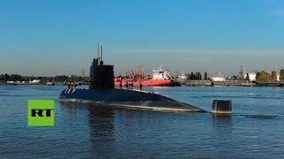 Video: Continúa el operativo de búsqueda del submarino argentino desaparecido