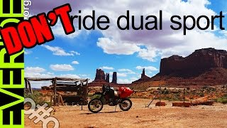 Brutally Honest Cons of Dual Sport ADV (WATCH PAST 4:20! THIS IS SATIRE!) o#o