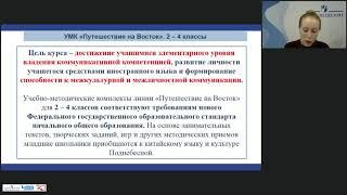 Реализация требований ФГОС начального общего образования в линии УМК  Путешествие на Вост