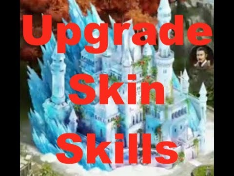 Clash Of Kings : Upgrade CASTLE SKINS : To Gain Stats