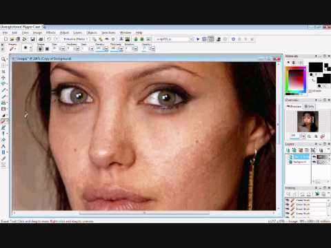 How To Do A Makeover On Paint Shop Pro Part 1