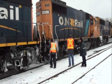 ON 2105 with the Ultimate Northlander (27FEB2011)