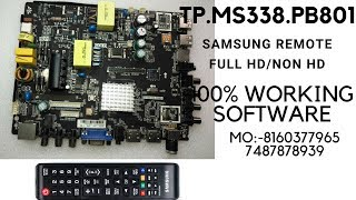 TP.MS338.PB801 512ram 4GB internal with Samsung remote (1920*1080&1366*768)