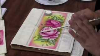 Pinturas em tecido Passo a Passo