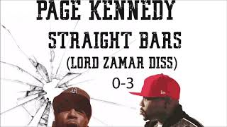 Page Kennedy - Straight Bars (Lord Jamar Diss For Shots At Eminem) 2019 New