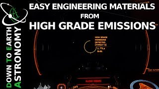 EASY ENGINEERING MATERIALS FROM HIGH GRADE EMISSIONS | ELITE DANGEROUS