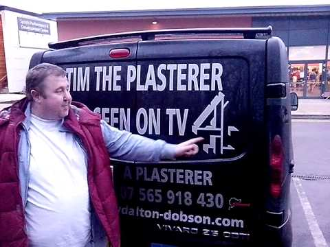 my A team van tim the plasterer