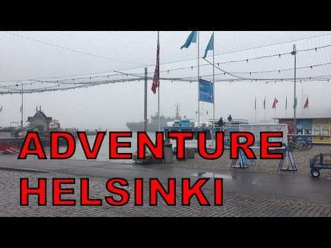 LETS BEGIN THE ADVENTURE HELSINKI!