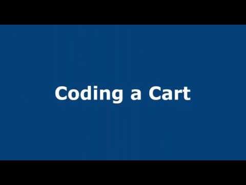 Coding a Cart