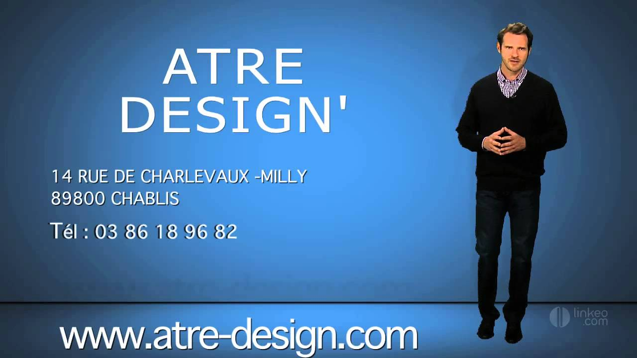 atre design 39 chemin es po les chablis 89 youtube. Black Bedroom Furniture Sets. Home Design Ideas